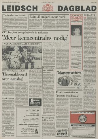 Leidsch Dagblad 1985-09-04
