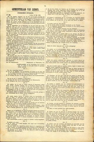 Handelingen van de Raad 1883-05-21