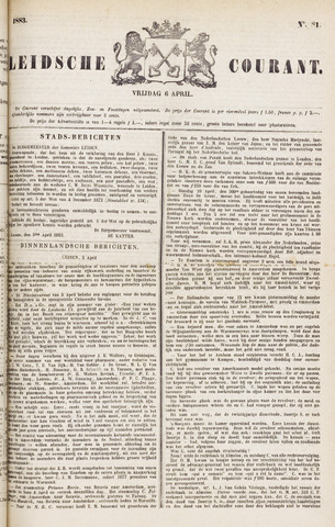 Leydse Courant 1883-04-06