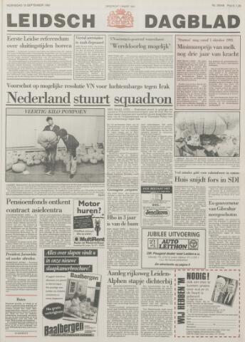 Leidsch Dagblad 1990-09-19