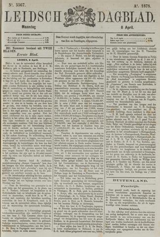 Leidsch Dagblad 1878-04-08