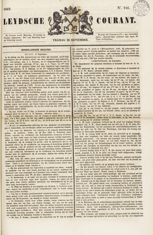 Leydse Courant 1862-09-26