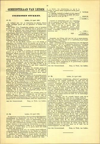 Handelingen van de Raad 1933-04-19