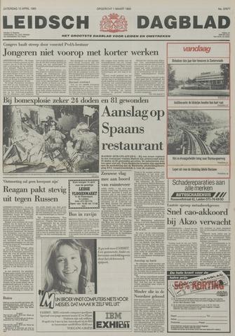 Leidsch Dagblad 1985-04-13