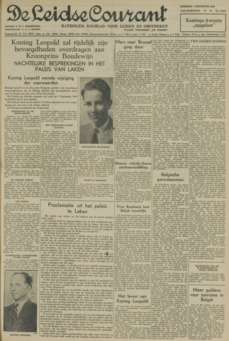Leidse Courant 1950-08-01