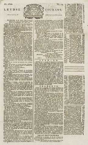 Leydse Courant 1820-01-28