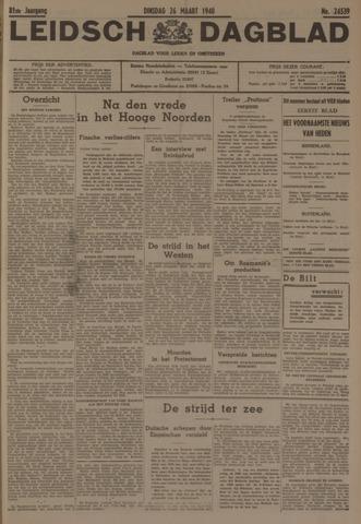 Leidsch Dagblad 1940-03-26