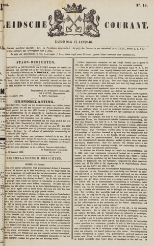 Leydse Courant 1885-01-17