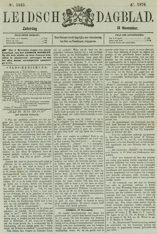 Leidsch Dagblad 1876-11-18