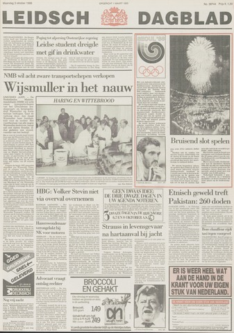 Leidsch Dagblad 1988-10-03