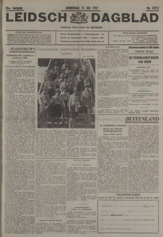 Leidsch Dagblad 1937-07-15