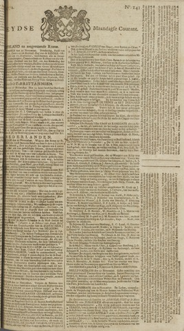 Leydse Courant 1772-11-23