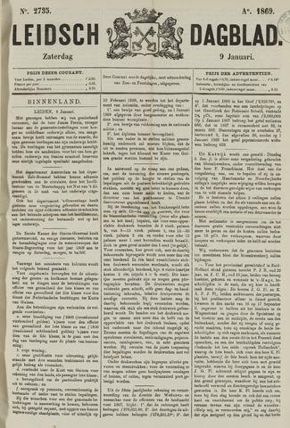 Leidsch Dagblad 1869-01-09