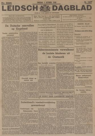 Leidsch Dagblad 1940-10-01