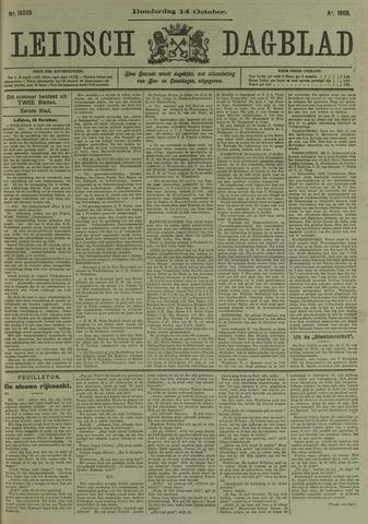 Leidsch Dagblad 1909-10-14