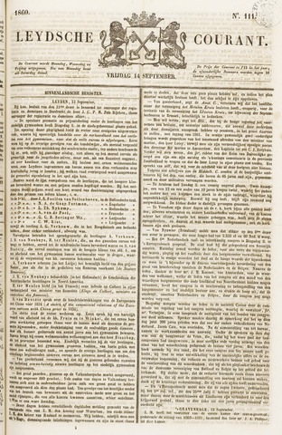 Leydse Courant 1860-09-14