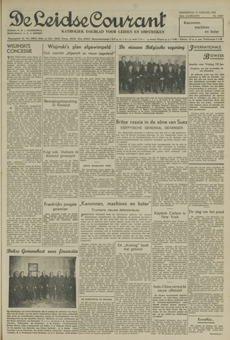 Leidse Courant 1952-01-17