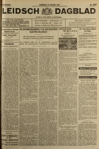 Leidsch Dagblad 1932-03-16