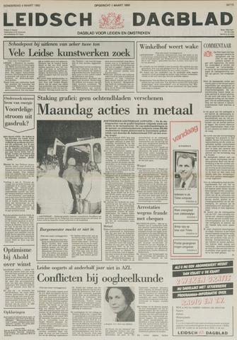 Leidsch Dagblad 1982-03-04