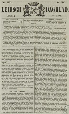 Leidsch Dagblad 1867-04-16