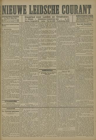 Nieuwe Leidsche Courant 1923-08-01