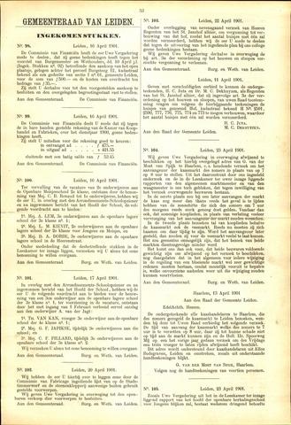 Handelingen van de Raad 1901-04-16