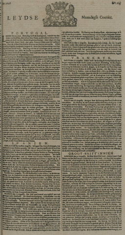 Leydse Courant 1726-09-02