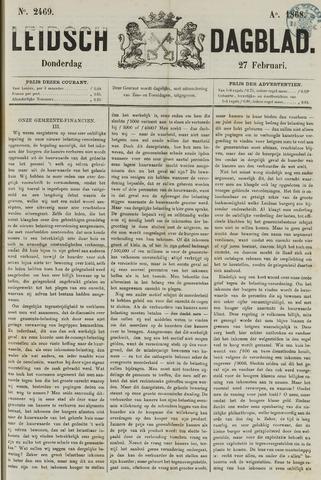 Leidsch Dagblad 1868-02-27