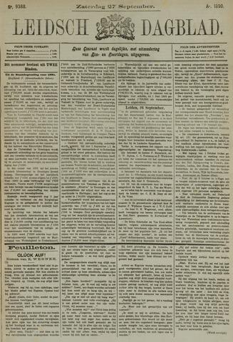 Leidsch Dagblad 1890-09-27