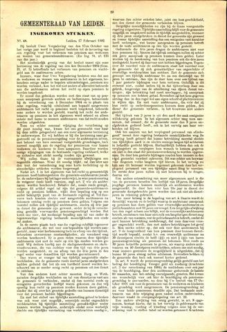 Handelingen van de Raad 1902-02-17