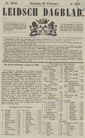 Leidsch Dagblad 1867-02-23