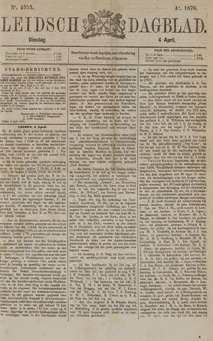 Leidsch Dagblad 1876-04-04