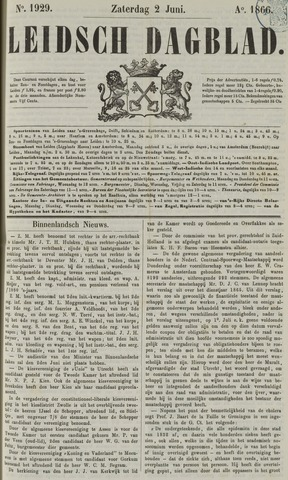 Leidsch Dagblad 1866-06-02