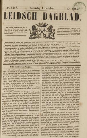 Leidsch Dagblad 1864-10-01