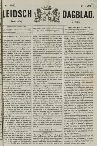 Leidsch Dagblad 1869-06-09