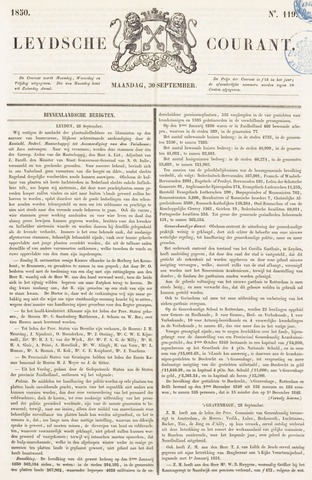 Leydse Courant 1850-09-30