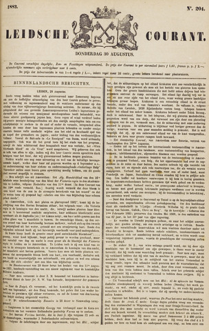 Leydse Courant 1883-08-30