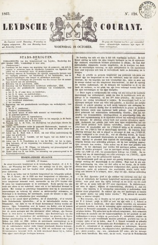 Leydse Courant 1865-10-18