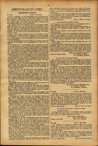 Handelingen van de Raad 1895-05-06