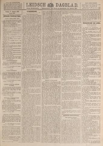 Leidsch Dagblad 1919-01-17