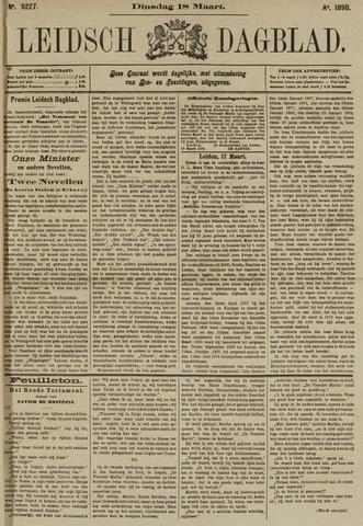 Leidsch Dagblad 1890-03-18