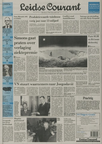 Leidse Courant 1992-01-09