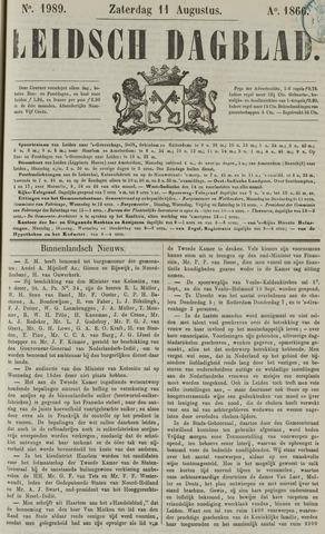 Leidsch Dagblad 1866-08-11