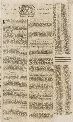 Leydse Courant 1814-09-19