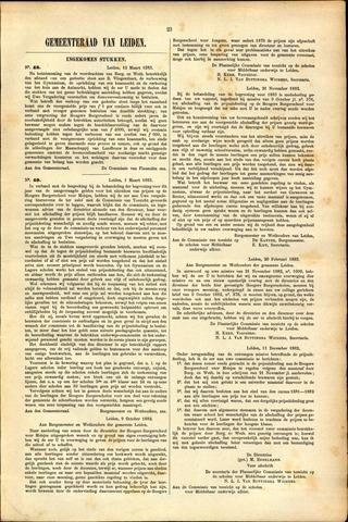 Handelingen van de Raad 1883-03-12