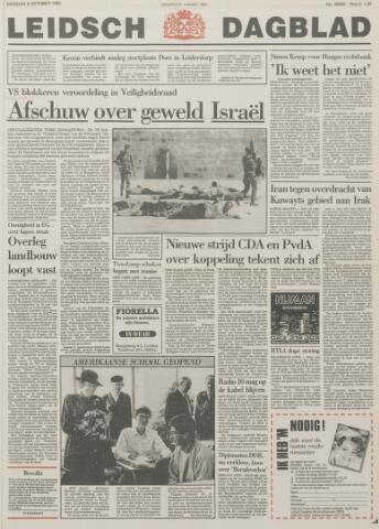 Leidsch Dagblad 1990-10-09
