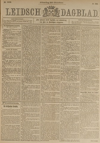 Leidsch Dagblad 1901-10-29