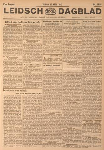 Leidsch Dagblad 1942-04-10