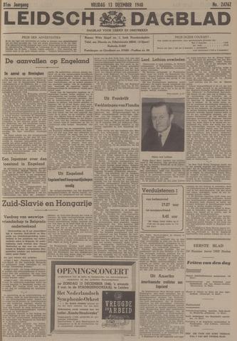 Leidsch Dagblad 1940-12-13