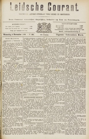 Leydse Courant 1889-11-06
